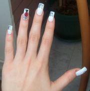 stylish chinese nail art