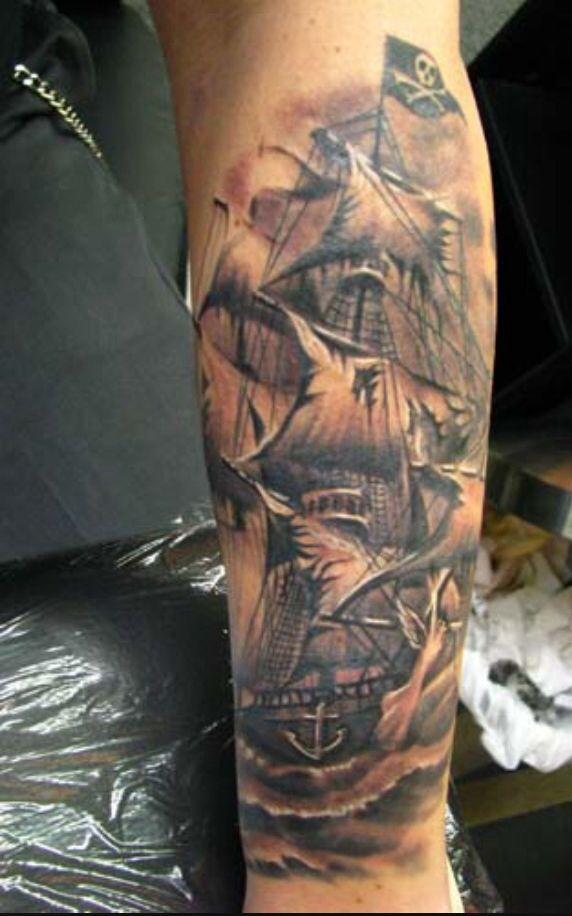 Goonies Map Tattoo