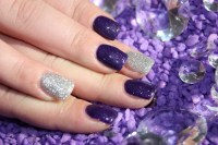 55 Most Stylish Purple Nail Art Designs