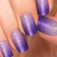 65+ Purple And Silver Nail Art Design Ideas