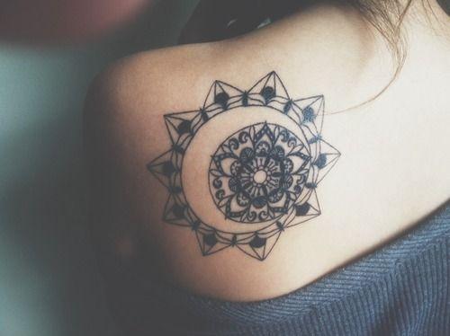 Simple Meditation Tattoo