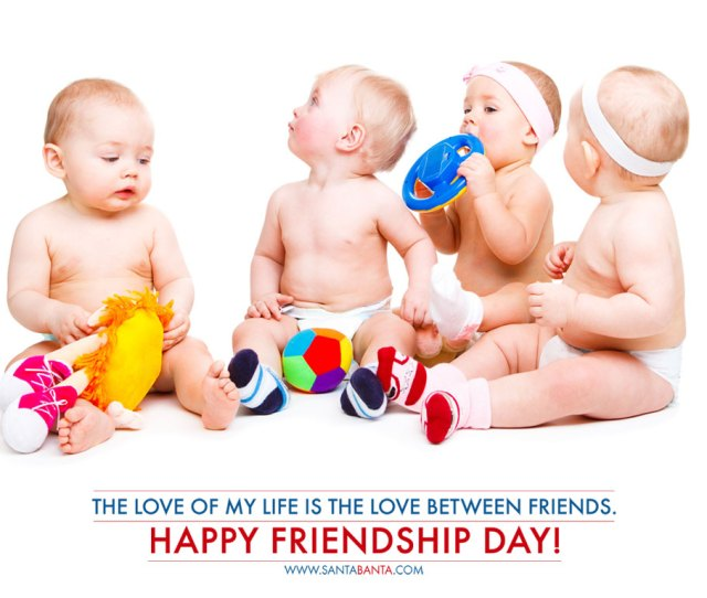 The Love Of My Life Is The Love Between Friends Happy Friendship Day Cute Friends
