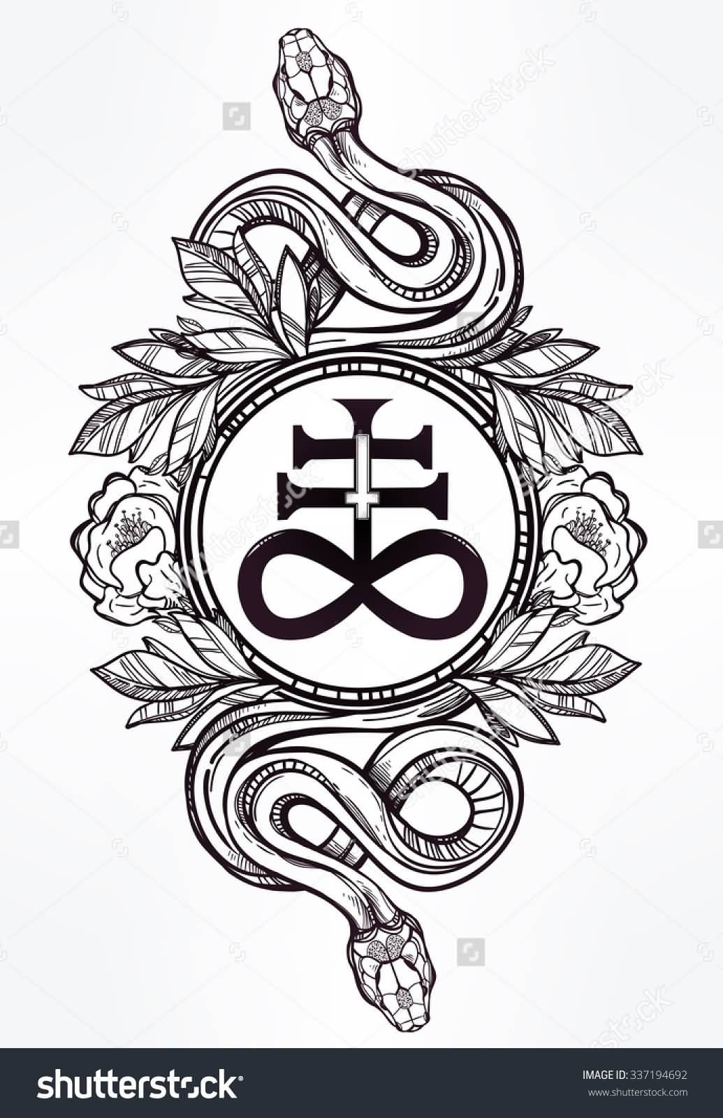 Satanic Symbol Tattoo Designs