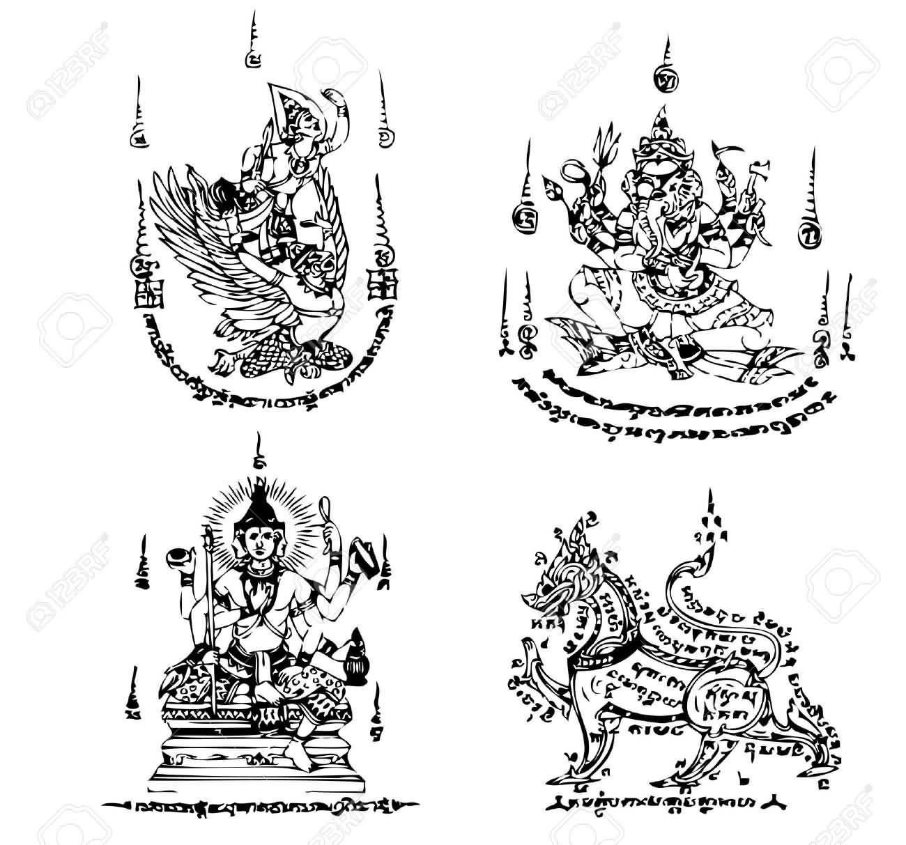 37 Latest Thai Tattoo Designs
