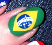 beautiful flags nail art