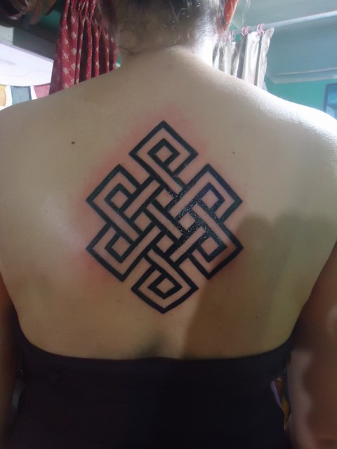 47 Incredible Endless Knot Tattoos