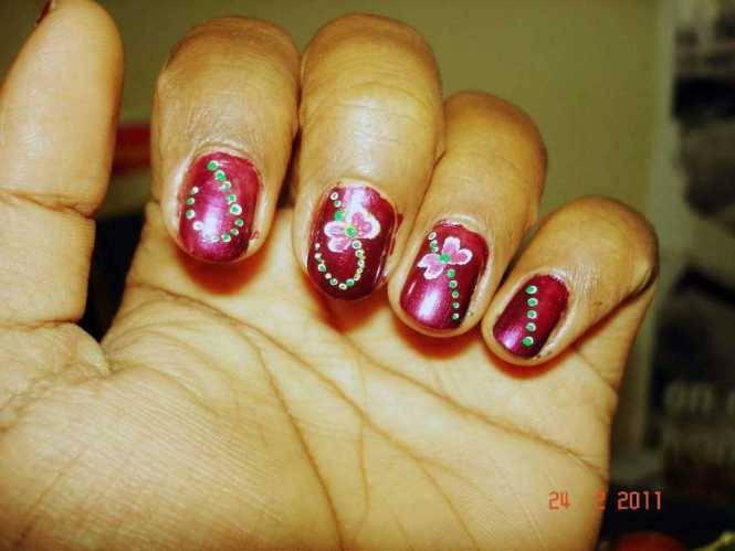 80 Cly Nail Art Designs For Short Nails