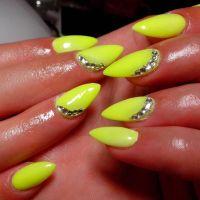 Neon Yellow Nails | www.pixshark.com - Images Galleries ...