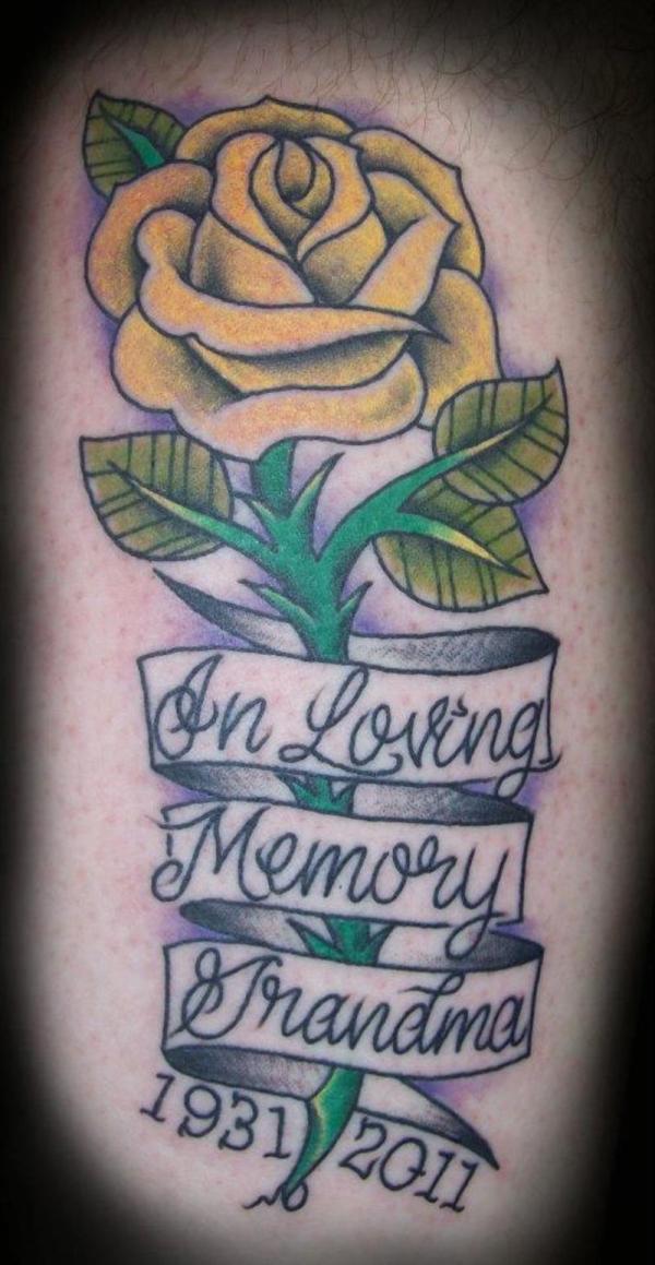 Tattoo For Dead Grandma