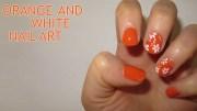 adorable orange and white