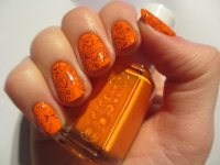 55+ Orange Nail Art Ideas For Girls