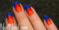 60+ Most Beautiful Orange Nail Art Ideas
