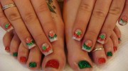 stylish christmas nail