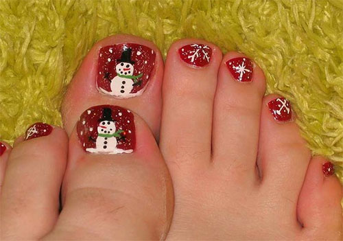 Y Red Nail Art Gallery