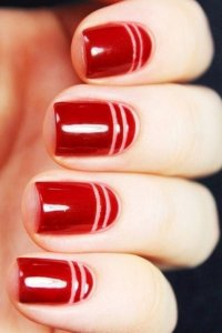 50 most Beautiful Red Nail Art Design Ideas