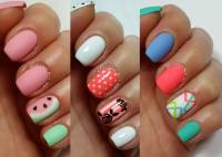 Three Easy Nail Art Design For Short Nails With Tutorial Video