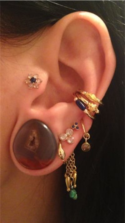 12 Best Stretched Lobe Piercings For Girls
