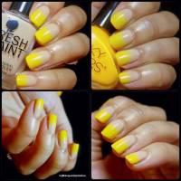 55+ Latest Yellow Nail Art Designs