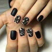 beautiful beige nail art
