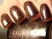 beautiful light brown nail