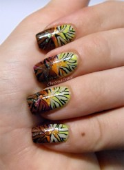 stylish brown nail art ideas