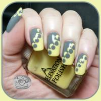 Yellow And Gray Nails | Best Nail Designs 2018