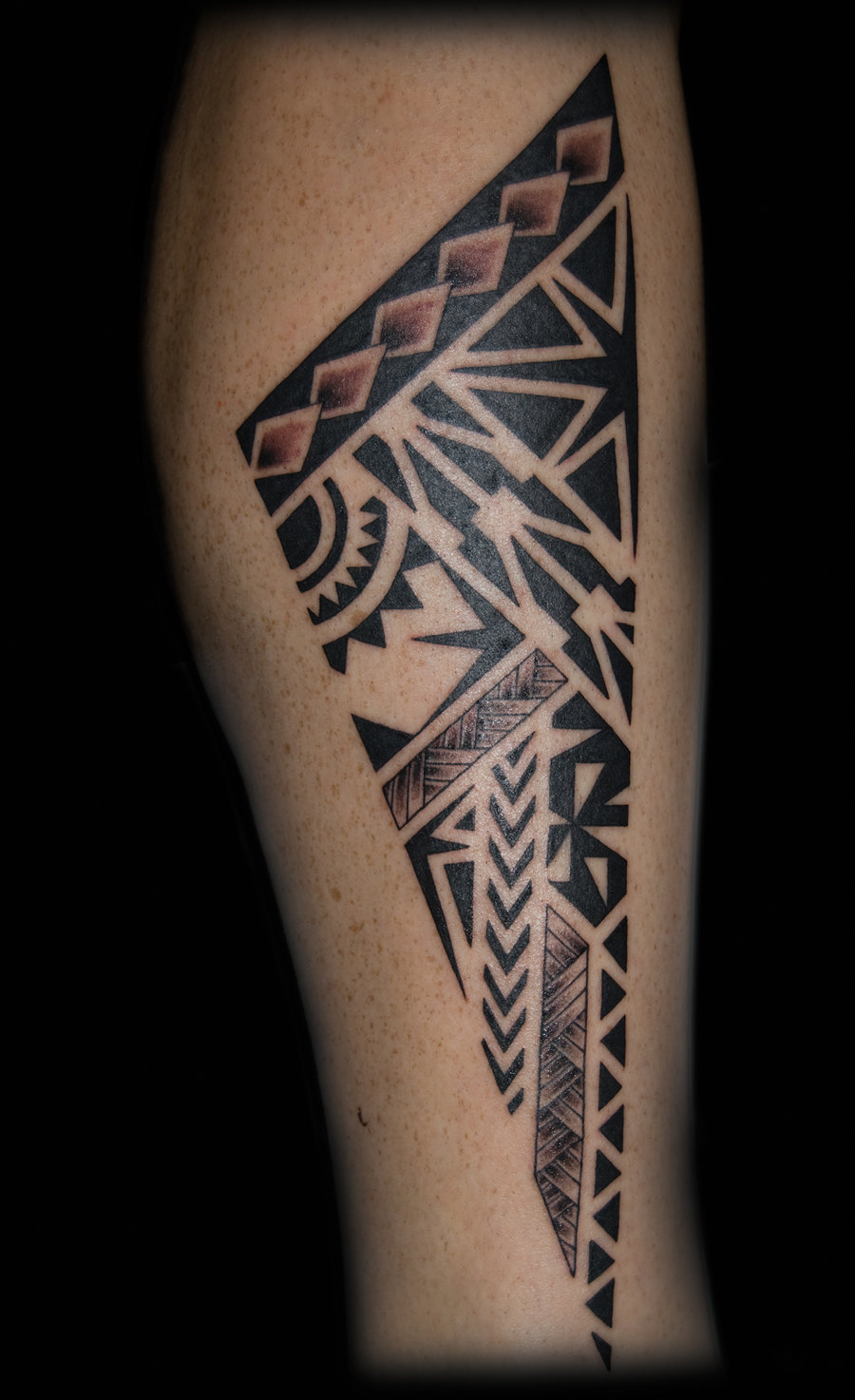 Tribal Tattoos For Women On Leg