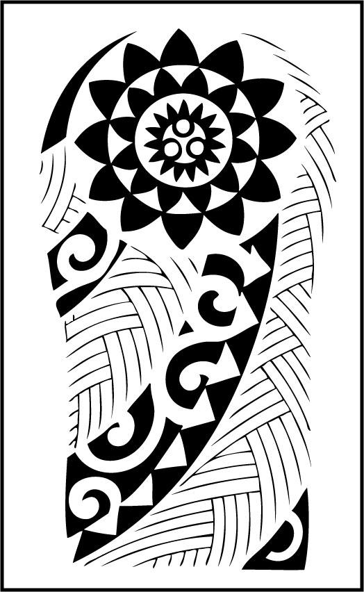 Maori Arm Tattoo Design By Unklejoe