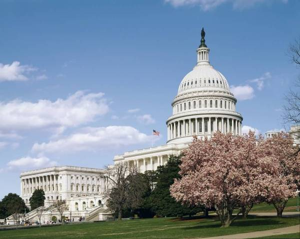Beautiful United States Capitol Building