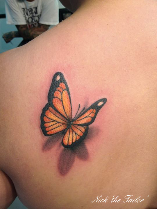 20 Cross Tattoos For Women 3d Butterfly Ideas And Designs