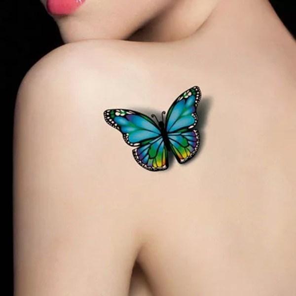 wonderful butterfly tattoos