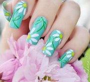 beautiful spring nail art design