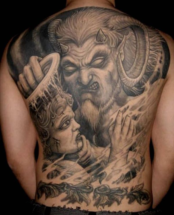 angel tattoos full