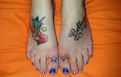 20 Foot Big Toe Tattoos Ideas And Designs