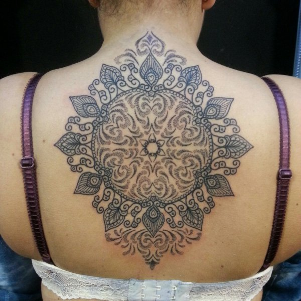 mandala tattoos ideas