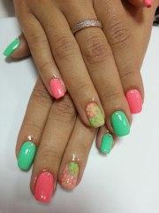 beautiful spring nail art