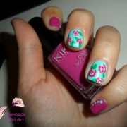 beautiful spring nail art