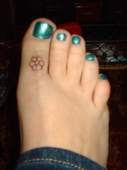 toe tattoos collection