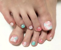 40+ Incredible Toe Nail Art For Spring