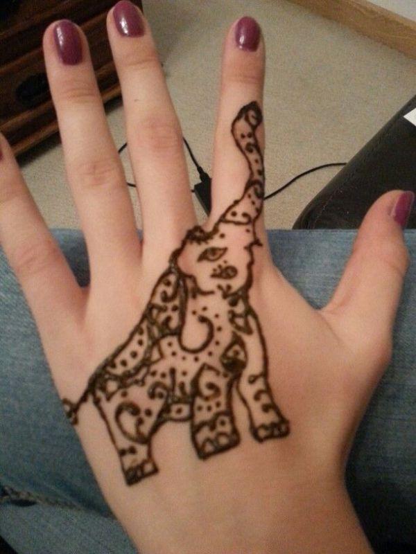 20 Left Hand Tattoos Pretty Henna Ideas And Designs