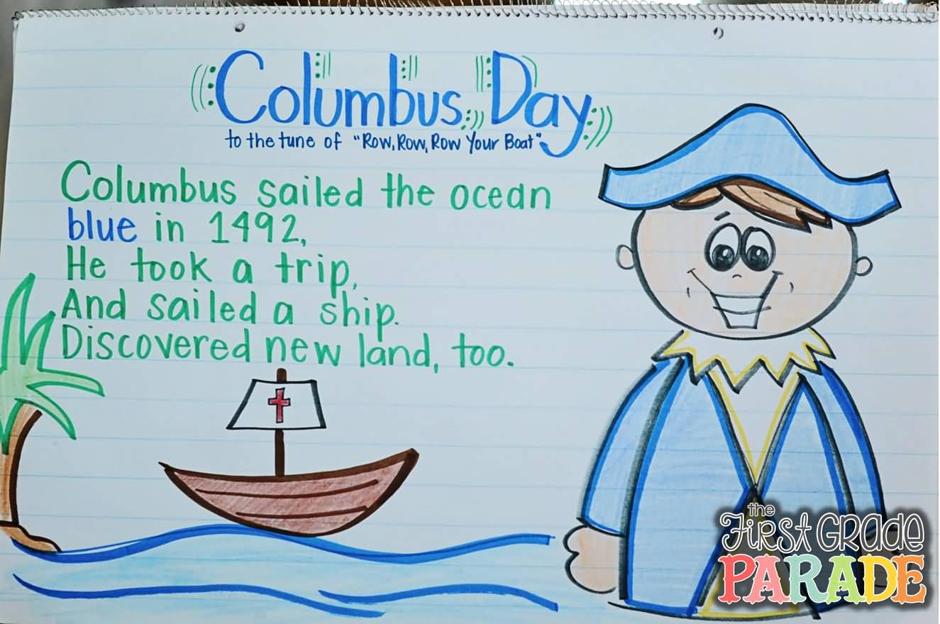 40 Latest Columbus Day Greeting Pictures And Photos