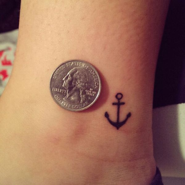 20 Anchor On Ankle Small Tattoos For Girls Ideas And Designs