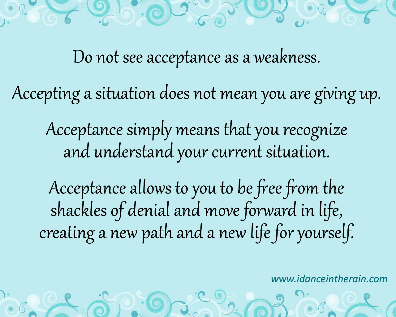 67 Top Acceptance Quotes And Sayings