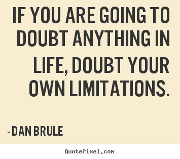 Image result for quotes about doubt