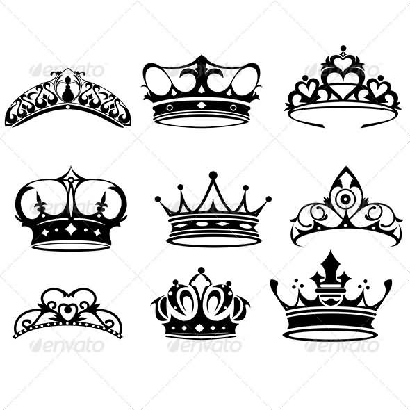 20+ Best Crown Tattoo Designs