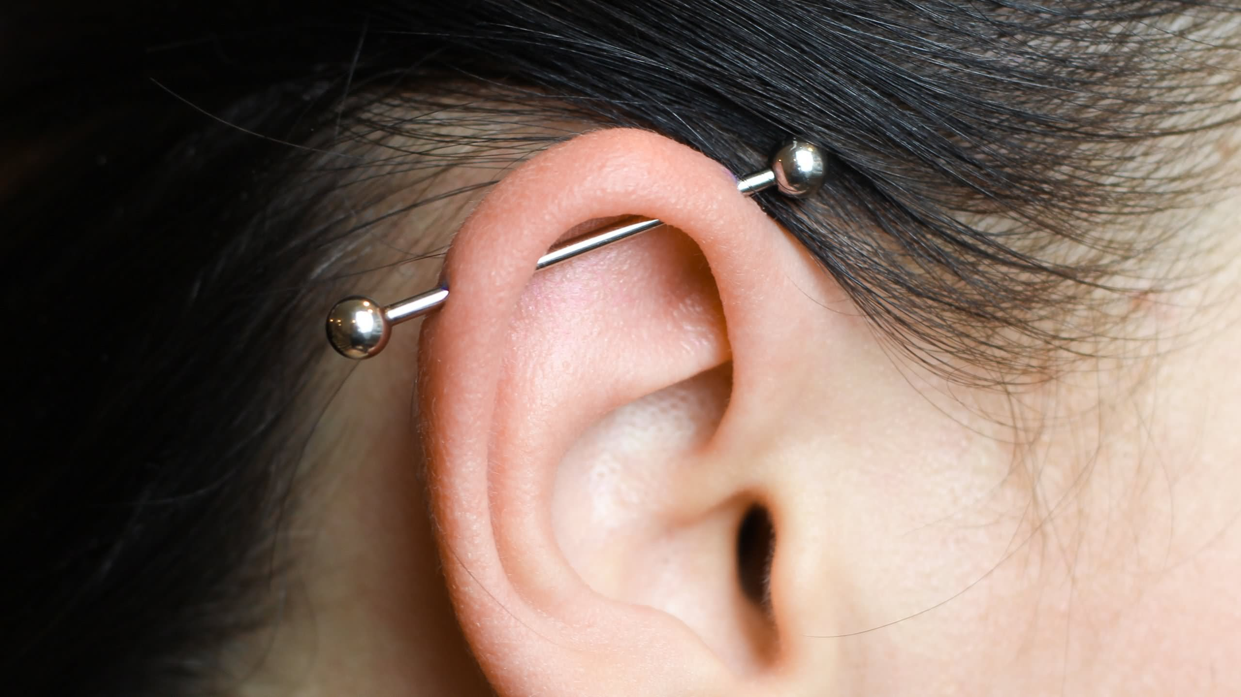 48 Industrial Piercing Ideas For Girls