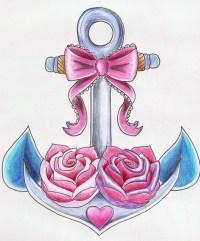 60+ Cute Anchor Tattoos Ideas