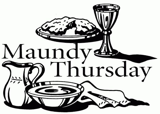 Maundy Thursday Coloring Page