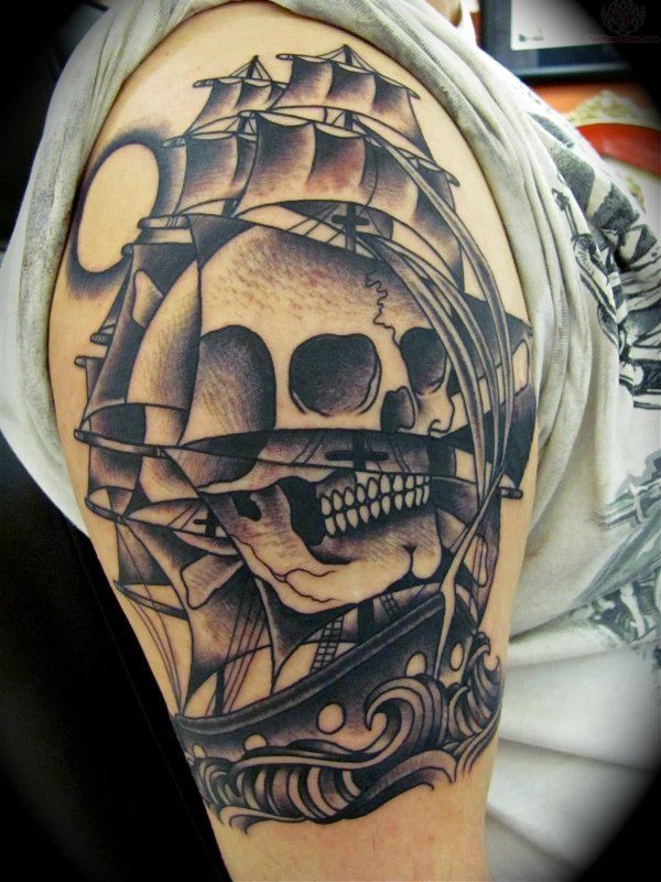 a36e255a8b1bd 20+ Pirate Sleeve Tattoo Designs Pictures and Ideas on Meta Networks