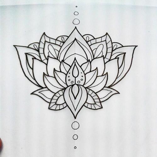 Lotus Flower Tattoo Designs